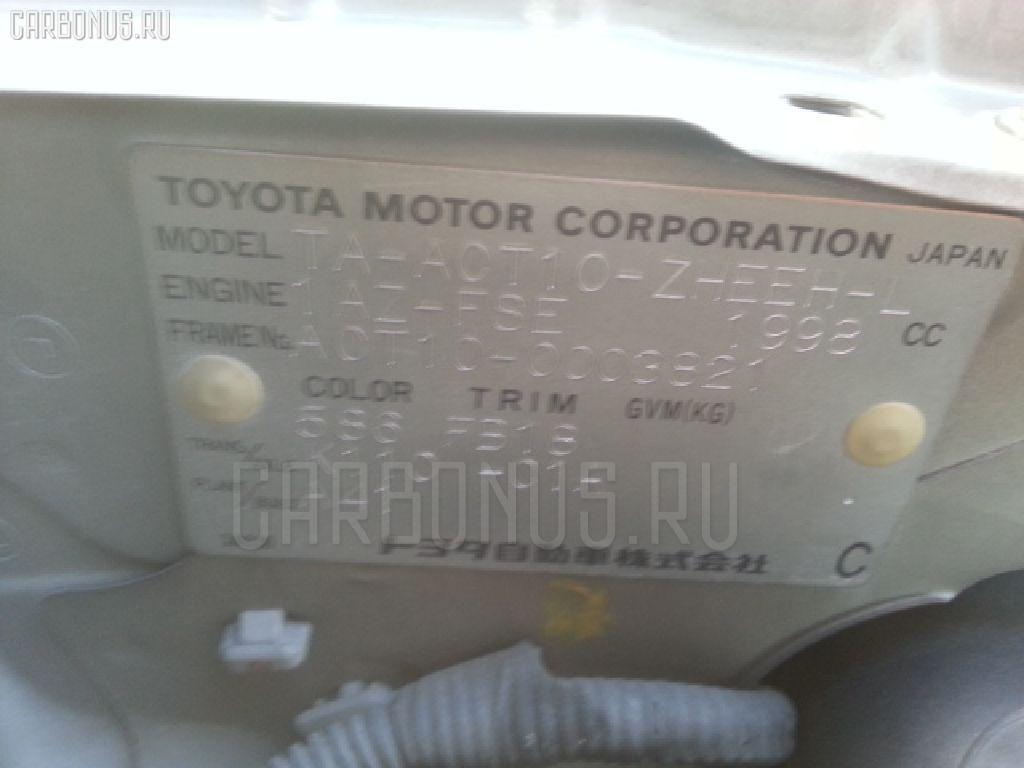 Мотор печки TOYOTA OPA ACT10 Фото 3