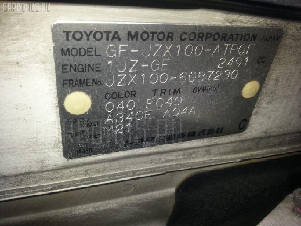 Крышка багажника TOYOTA MARK II JZX100 Фото 3