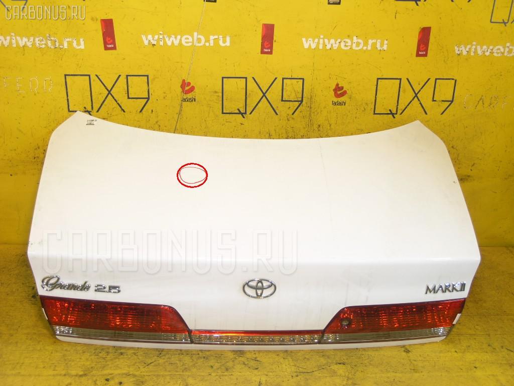 Крышка багажника Toyota Mark ii JZX100 Фото 1