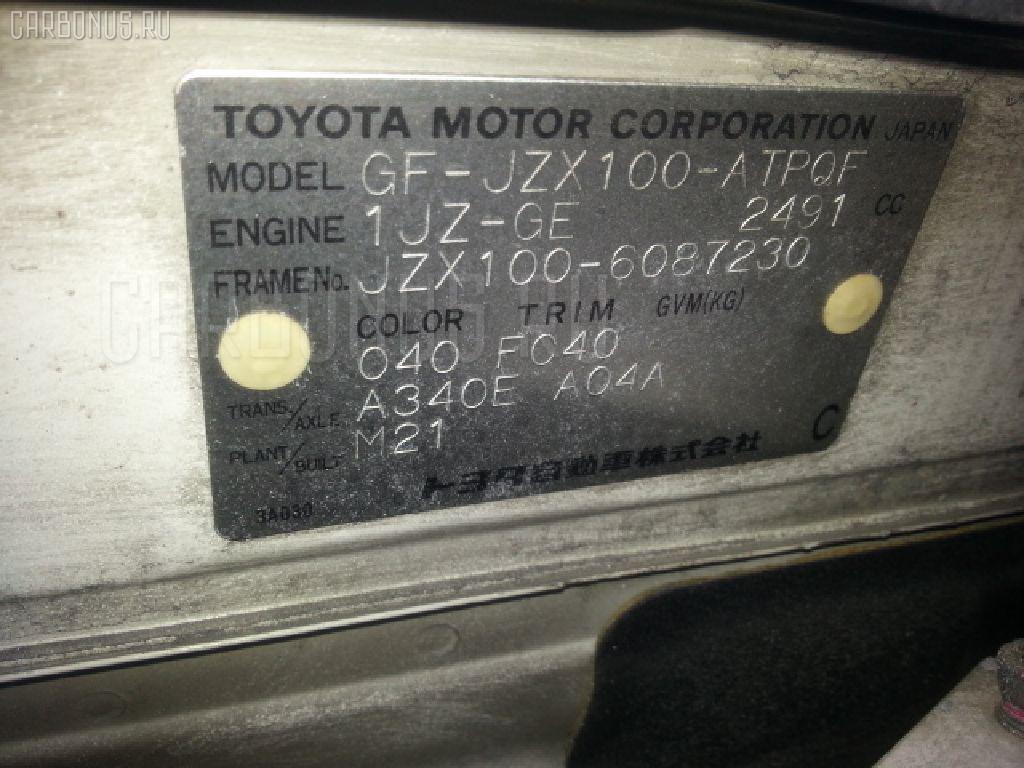 Коммутатор TOYOTA MARK II JZX100 1JZ-GE Фото 3