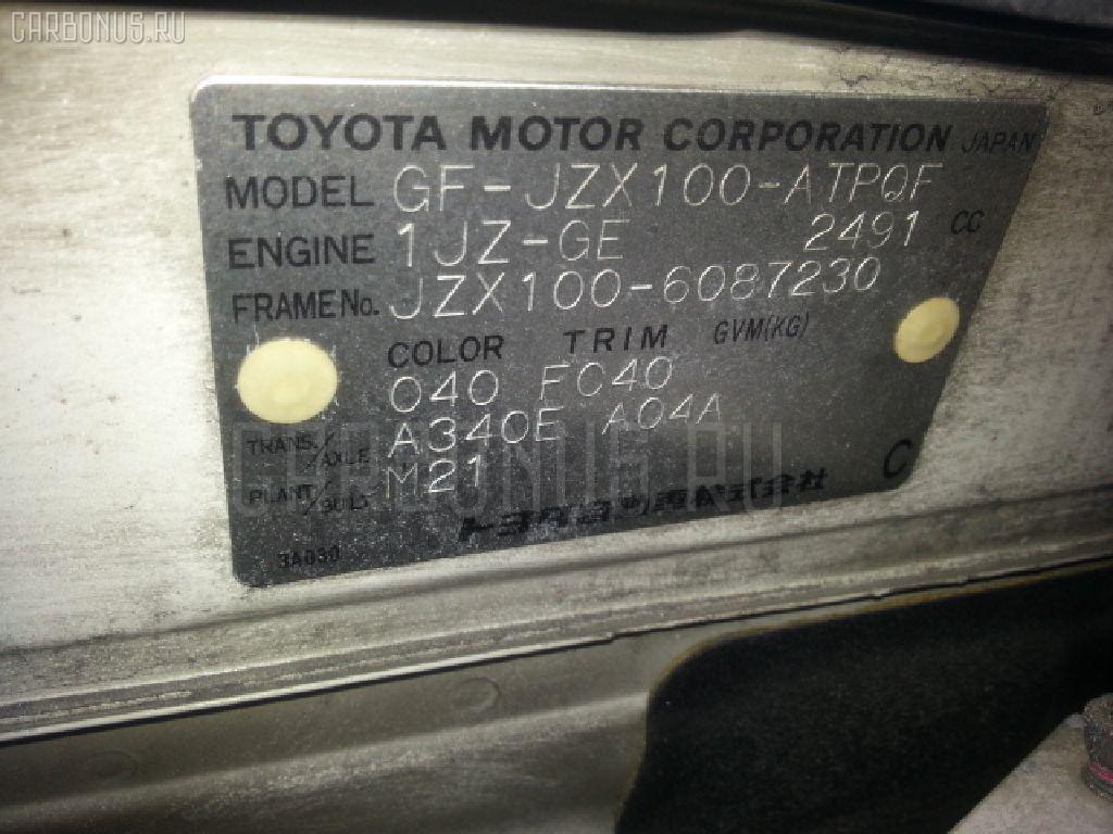 Ручка КПП TOYOTA MARK II JZX100 Фото 3