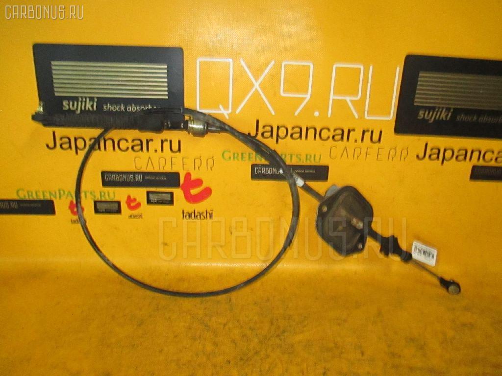 Тросик на коробку передач TOYOTA PLATZ SCP11 1SZ-FE. Фото 3