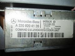 CD-чейнджер MERCEDES-BENZ S-CLASS W220.175 Фото 4