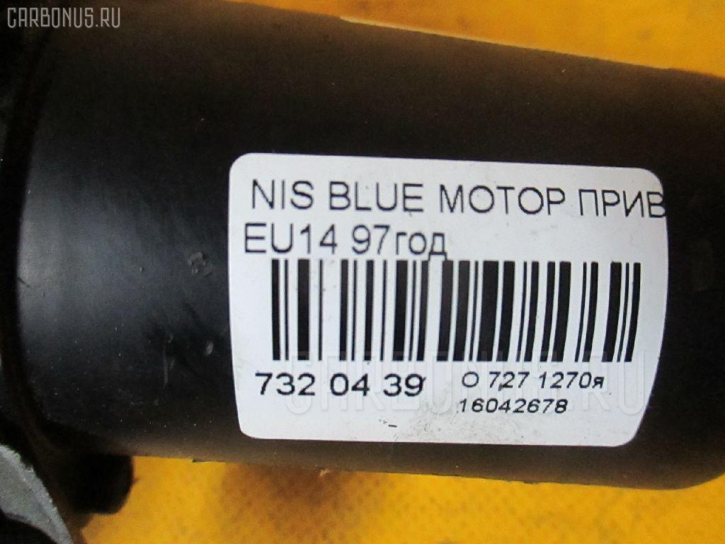 Мотор привода дворников NISSAN BLUEBIRD EU14 Фото 7