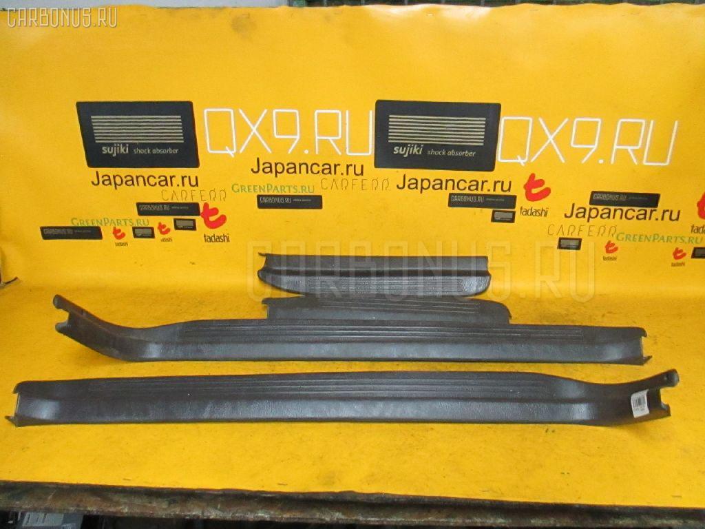 Накладка на порог салона TOYOTA MARK II JZX81 Фото 1