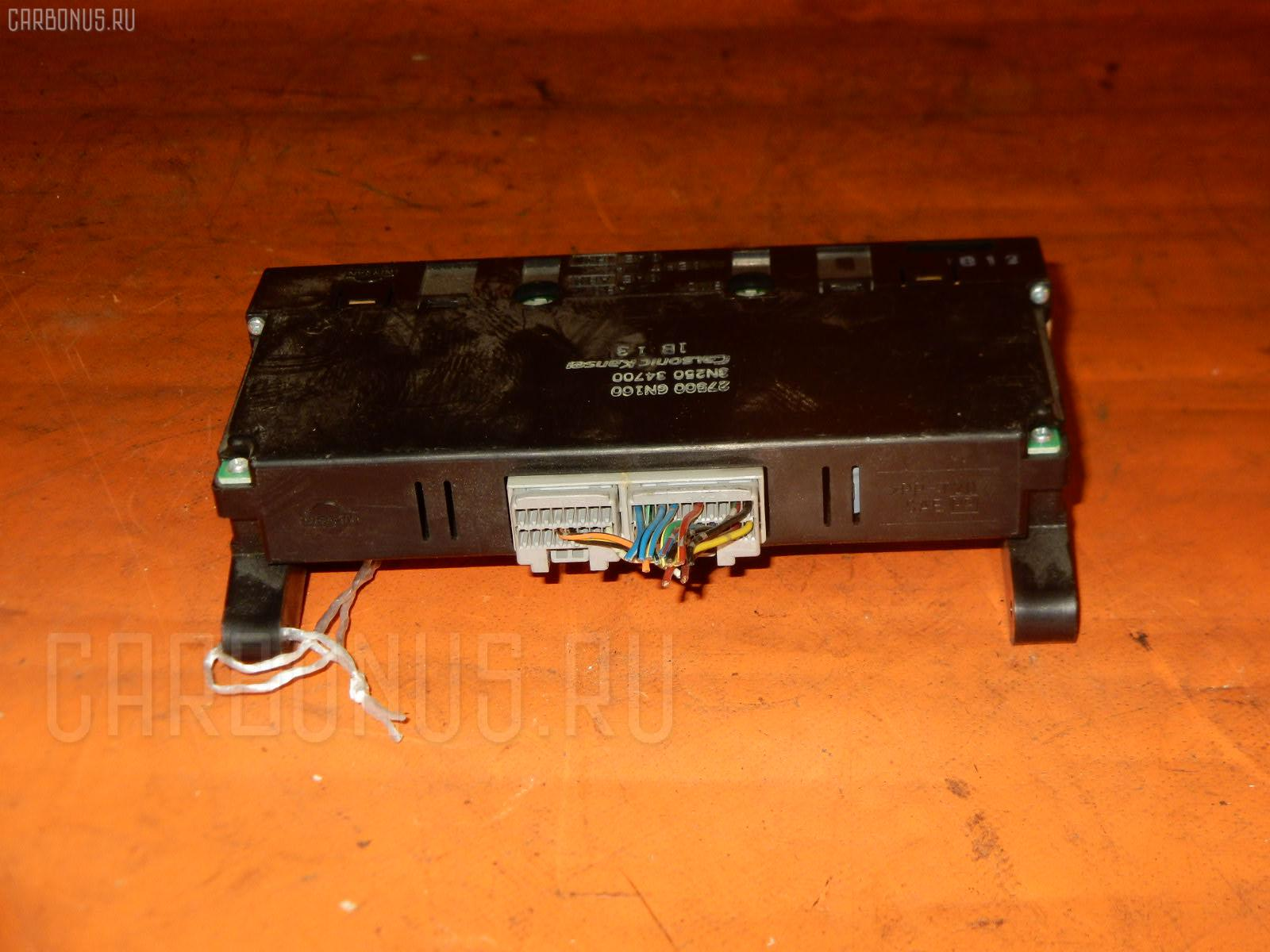 Блок управления климатконтроля Nissan Bluebird sylphy QG10 QG18DE Фото 1