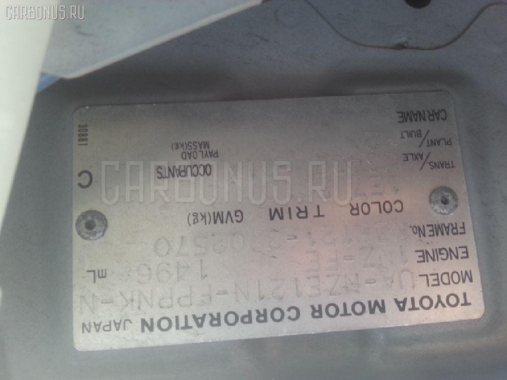 Радиатор ДВС TOYOTA COROLLA SPACIO NZE121N 1NZ-FE Фото 3