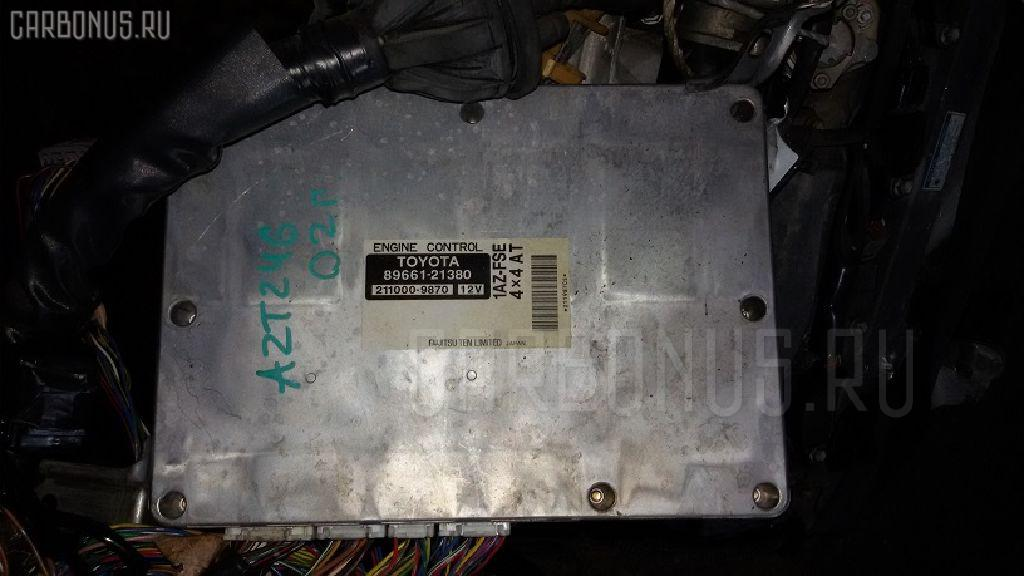 Двигатель TOYOTA CALDINA AZT246W 1AZ-FSE Фото 4
