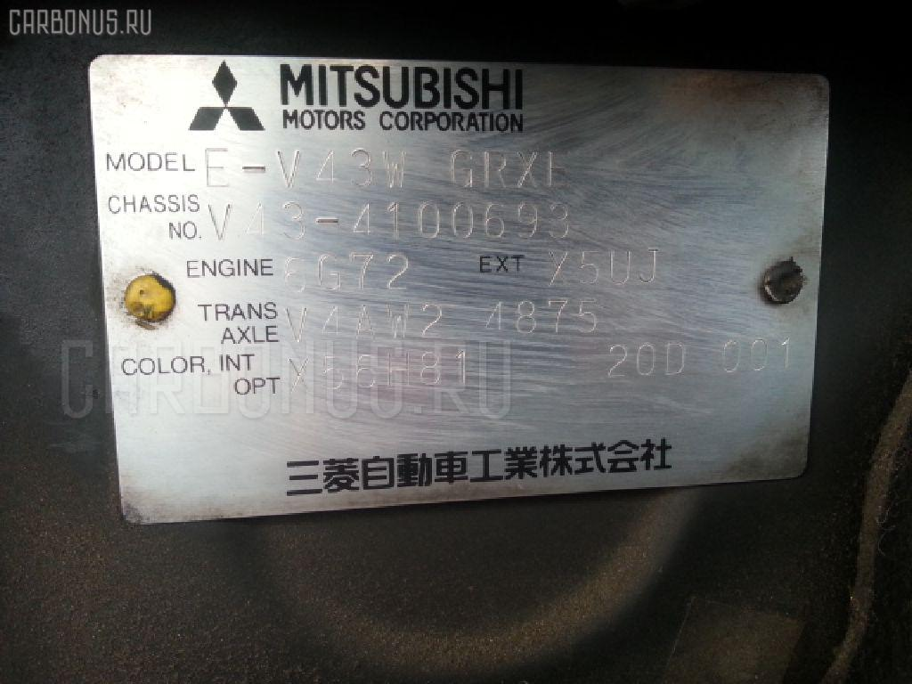 Двигатель MITSUBISHI PAJERO V43W 6G72 Фото 12