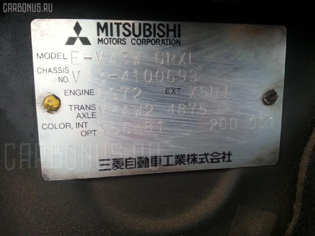 Бампер MITSUBISHI PAJERO V43W Фото 7