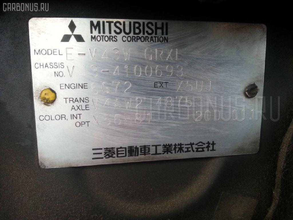 Решетка под лобовое стекло MITSUBISHI PAJERO V43W Фото 3