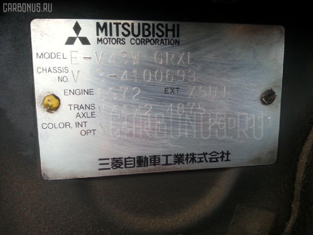 Консоль магнитофона MITSUBISHI PAJERO V43W Фото 4