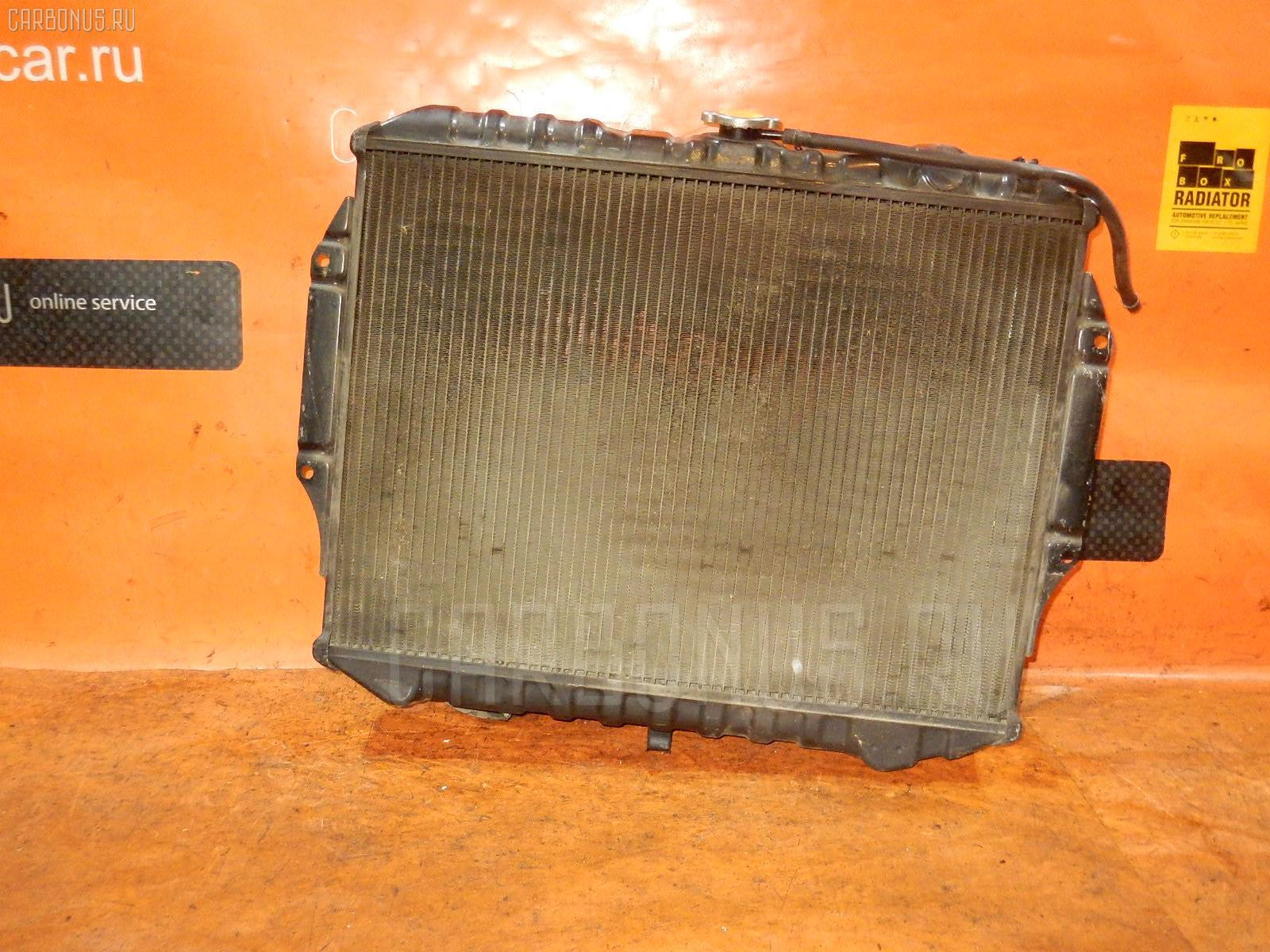Радиатор ДВС MITSUBISHI PAJERO V43W 6G72. Фото 10