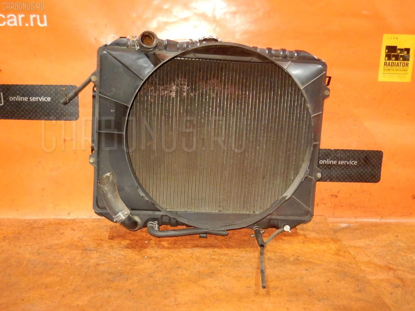 Радиатор ДВС MITSUBISHI PAJERO V43W 6G72. Фото 11