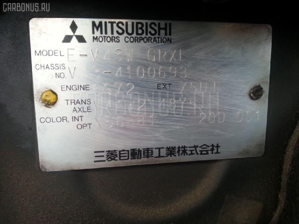 Радиатор ДВС MITSUBISHI PAJERO V43W 6G72 Фото 4