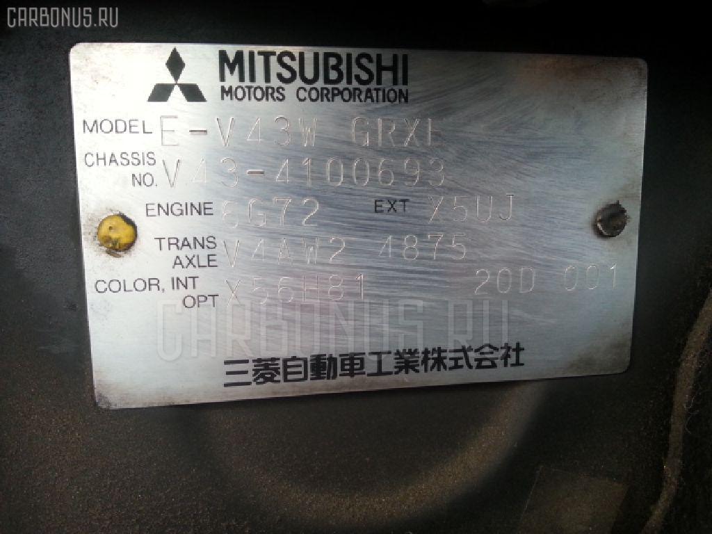 Консоль КПП MITSUBISHI PAJERO V43W Фото 5