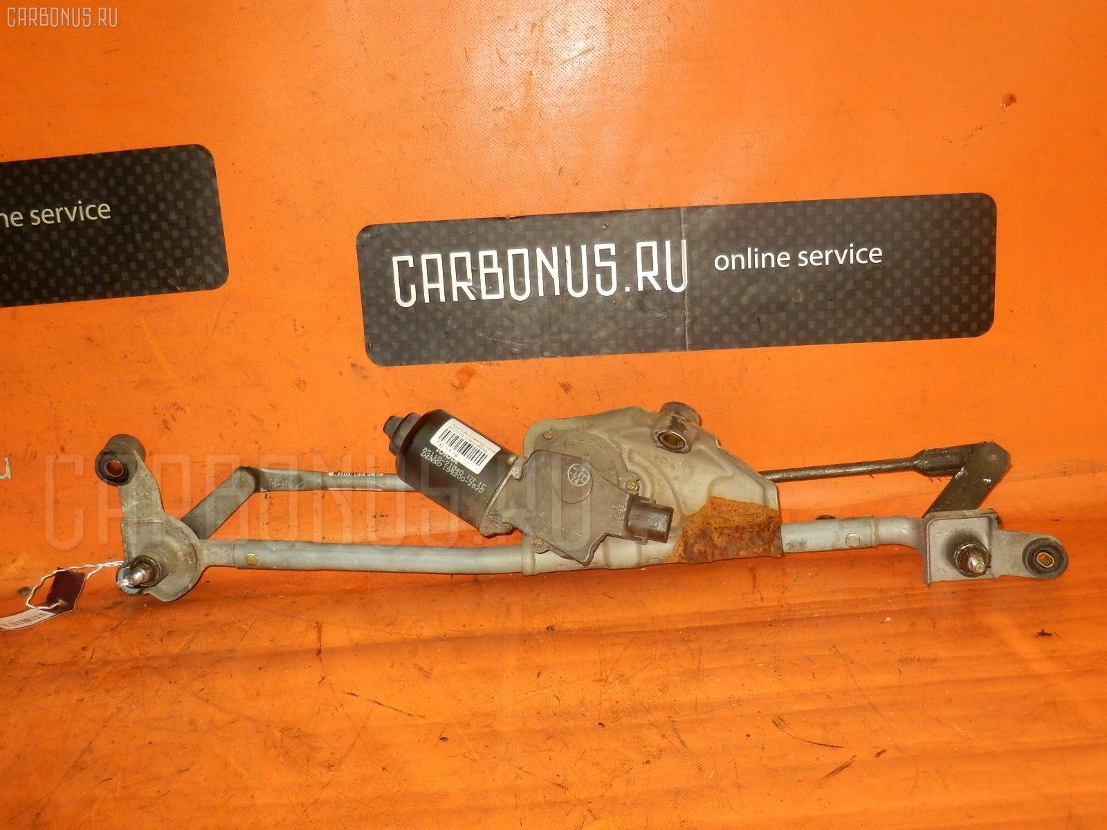 Мотор привода дворников TOYOTA CALDINA AT211G. Фото 3