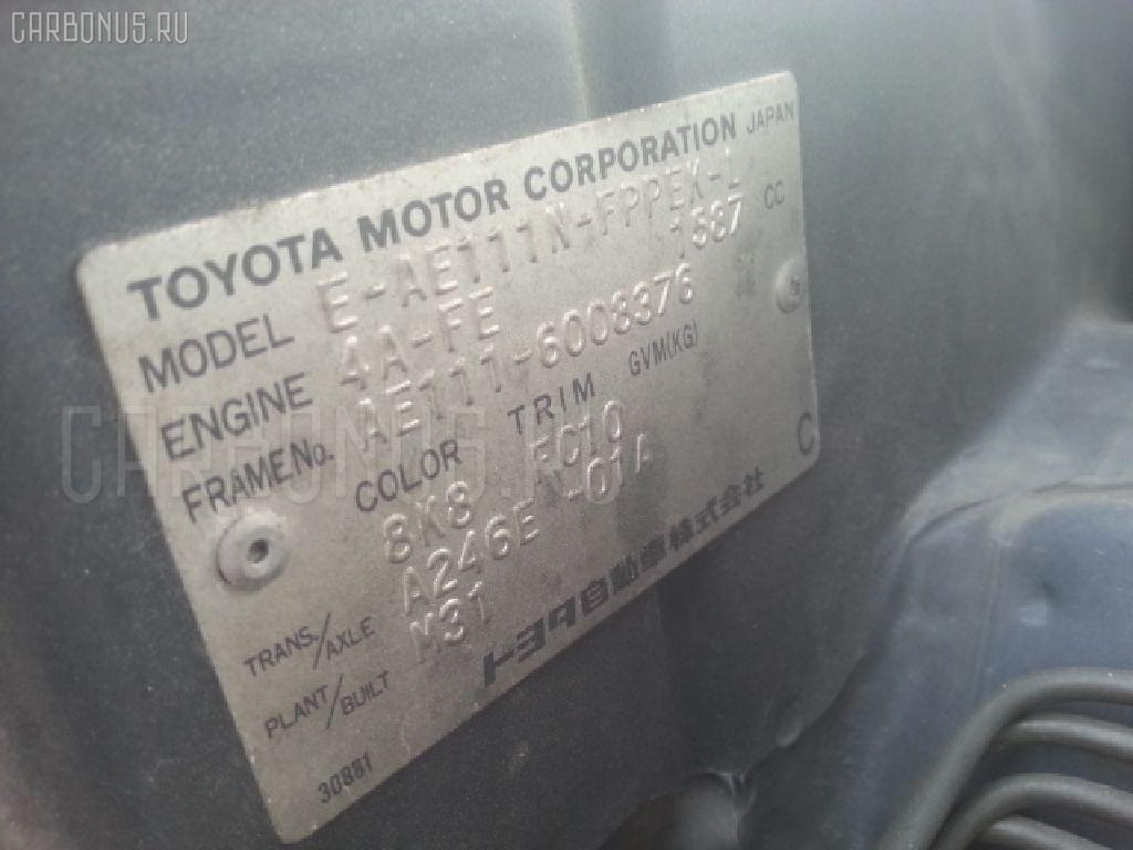 Тросик на коробку передач TOYOTA COROLLA SPACIO AE111N 4A-FE Фото 2