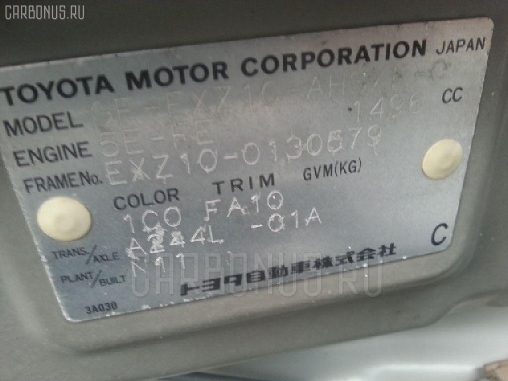 Блок управления климатконтроля TOYOTA RAUM EXZ10 5E-FE Фото 3