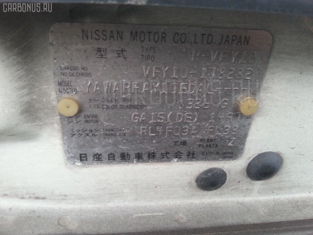 Консоль магнитофона NISSAN AD WAGON VFY10 Фото 3
