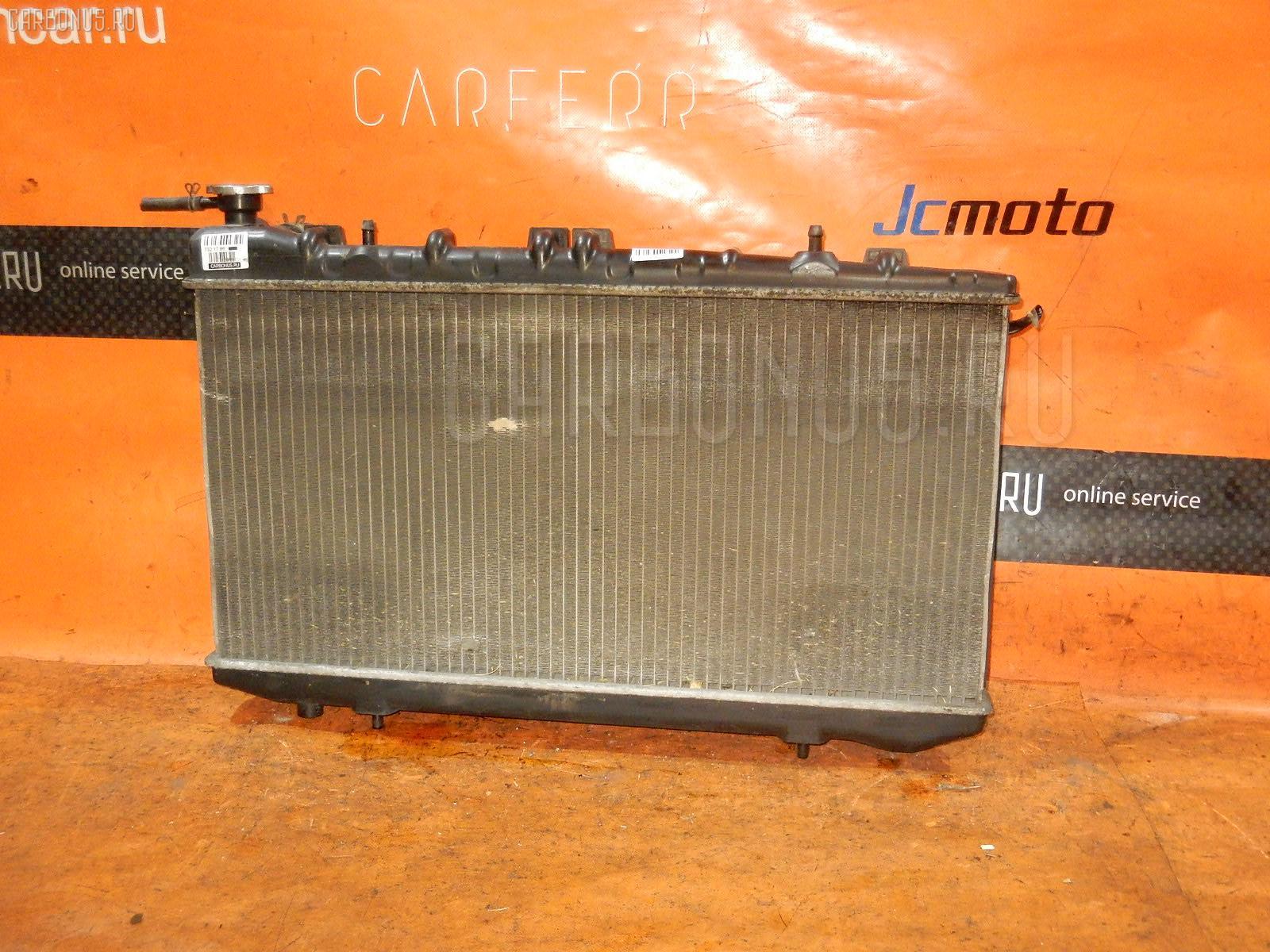 Радиатор ДВС NISSAN AD WAGON VFY10 GA15DE. Фото 3
