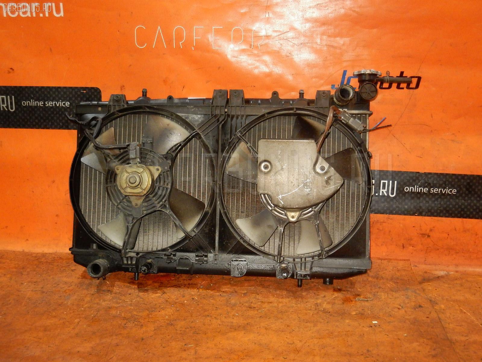 Радиатор ДВС NISSAN AD WAGON VFY10 GA15DE. Фото 2