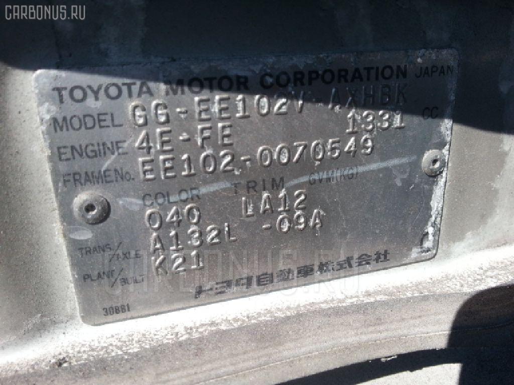 Обшивка багажника TOYOTA COROLLA WAGON EE102V Фото 4
