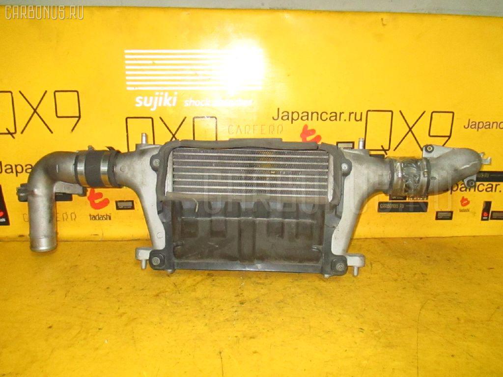 Радиатор интеркулера NISSAN AVENIR PNW11 SR20DET. Фото 6