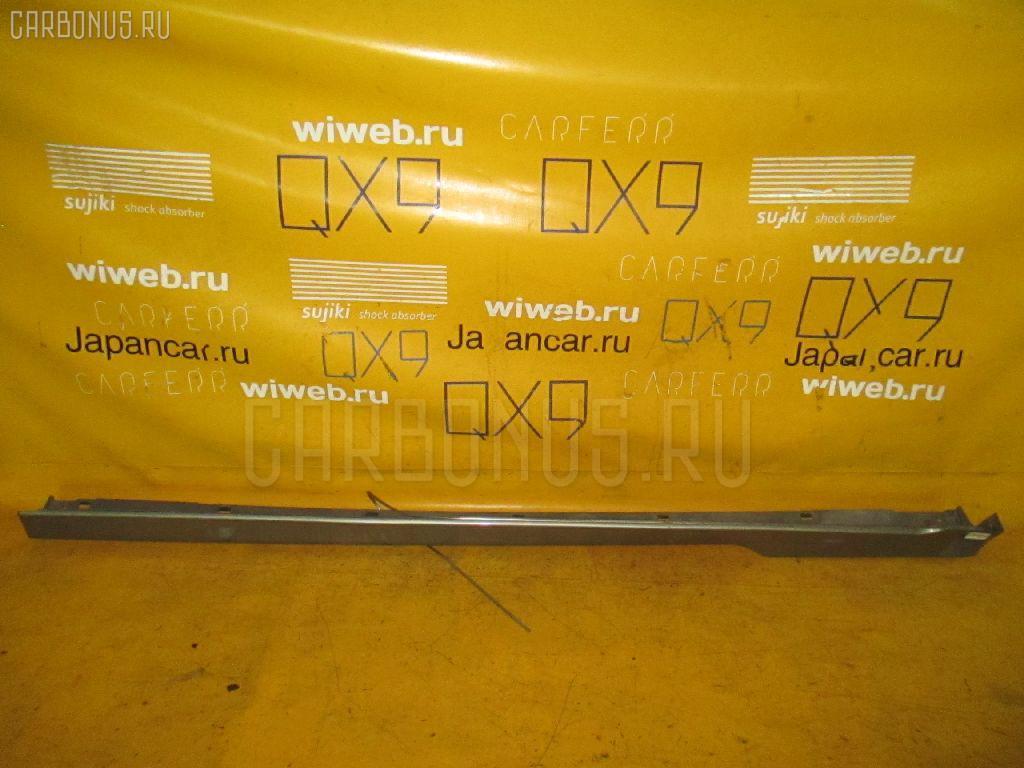 Порог кузова пластиковый ( обвес ) SUBARU LEGACY LANCASTER BHE. Фото 6