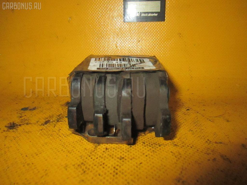 Тормозные колодки SUBARU LEGACY LANCASTER BH9 EJ25. Фото 8