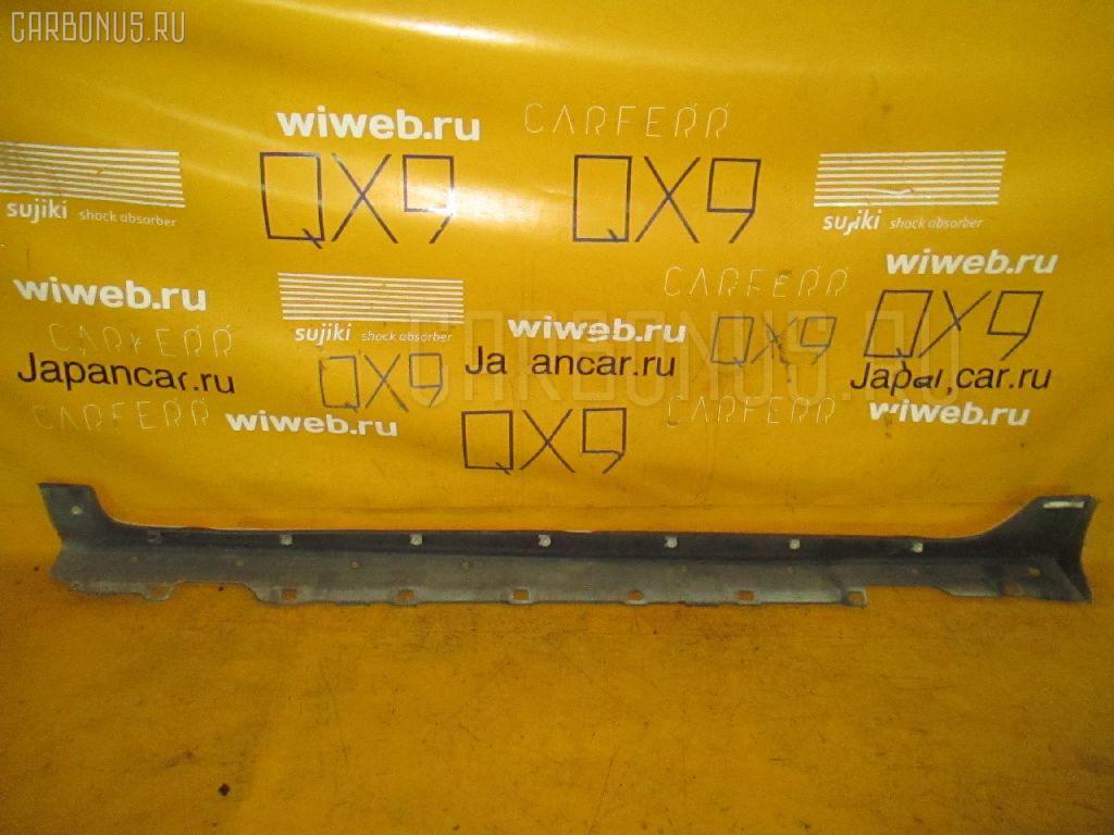 Порог кузова пластиковый ( обвес ) TOYOTA COROLLA SPACIO ZZE124N Фото 2