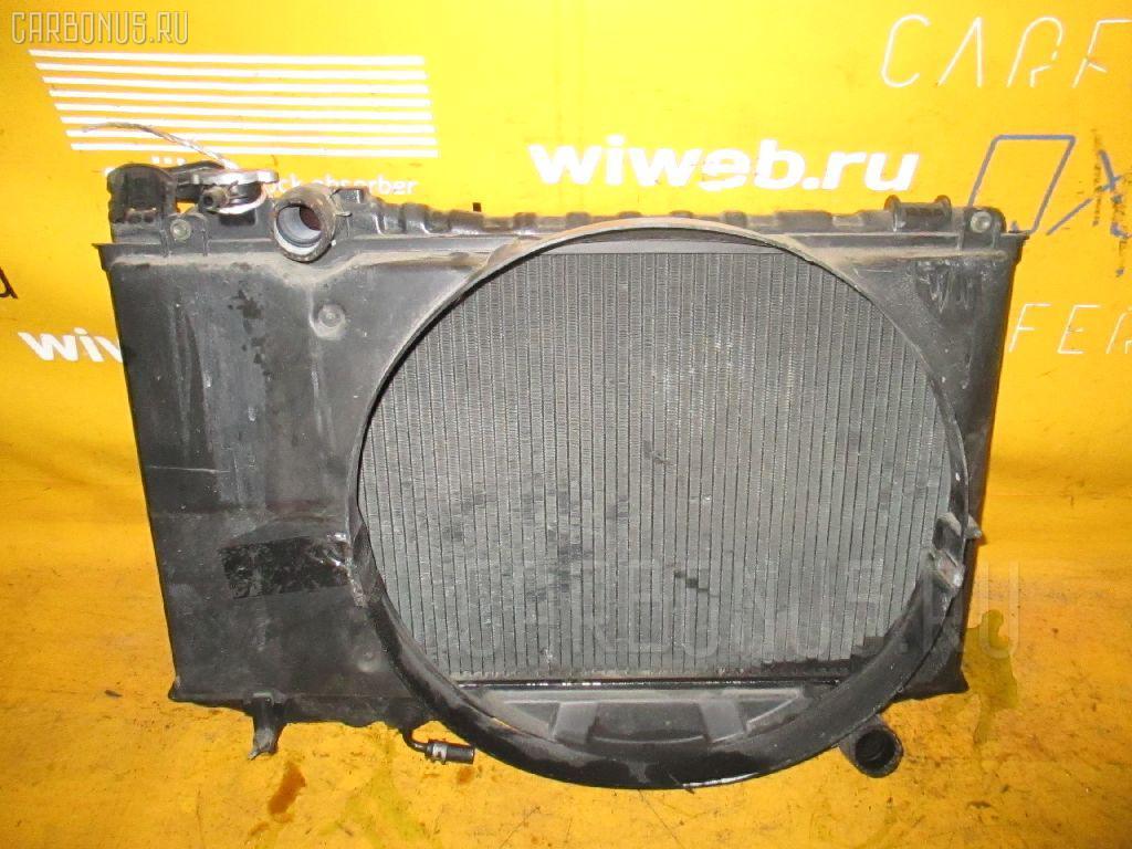 Радиатор ДВС TOYOTA MARK II WAGON GX70G 1G-FE. Фото 3
