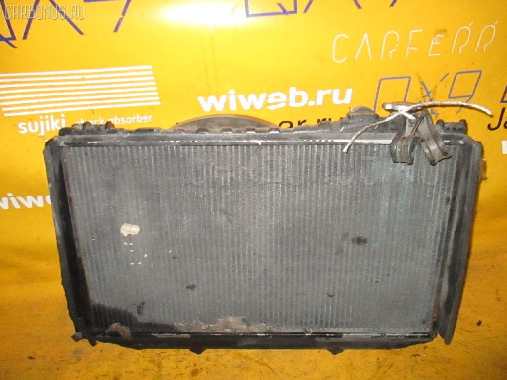 Радиатор ДВС TOYOTA MARK II WAGON GX70G 1G-FE. Фото 4