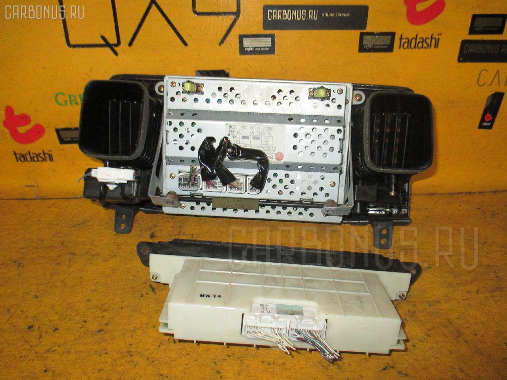Блок управления климатконтроля TOYOTA MARK II JZX115 1JZ-GE Фото 1