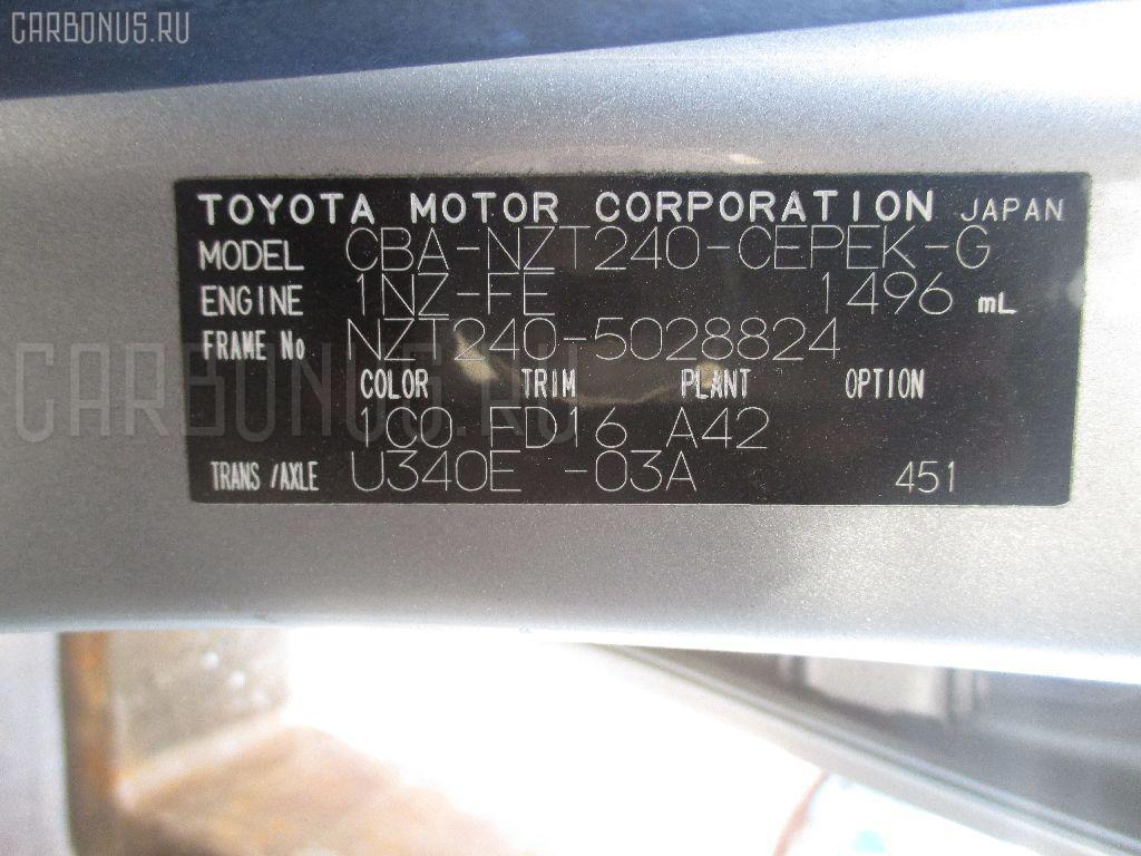 Мотор печки TOYOTA ALLION NZT240 Фото 4