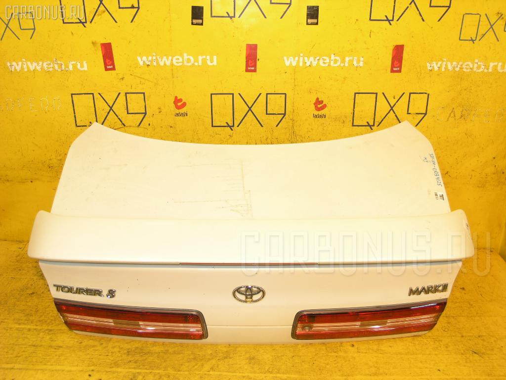 Крышка багажника TOYOTA MARK II JZX100. Фото 3