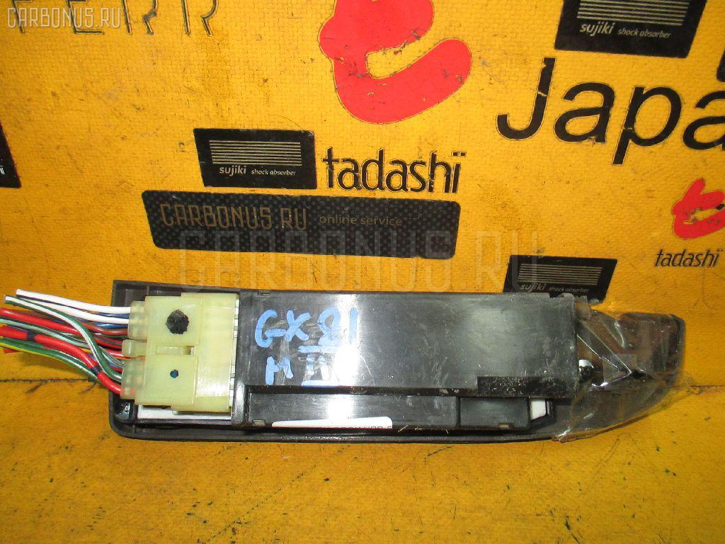 Блок упр-я стеклоподъемниками TOYOTA MARK II GX81. Фото 8