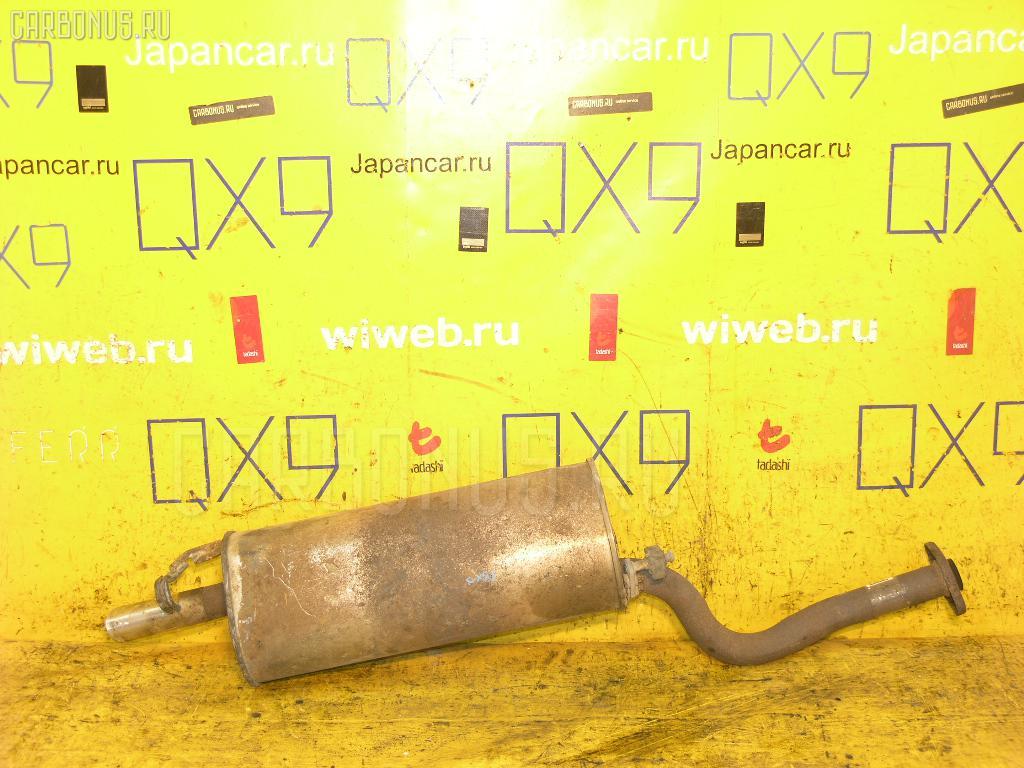 Глушитель TOYOTA GX81 1G-FE. Фото 2