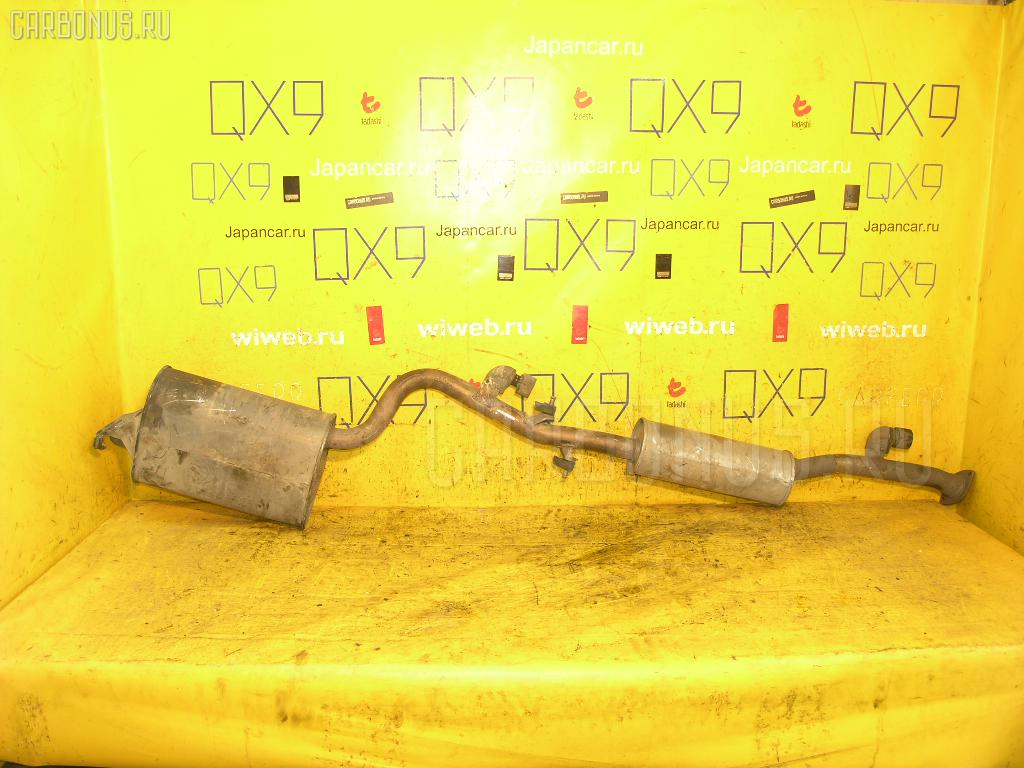 Глушитель TOYOTA MARK II GX110 1G-FE. Фото 5