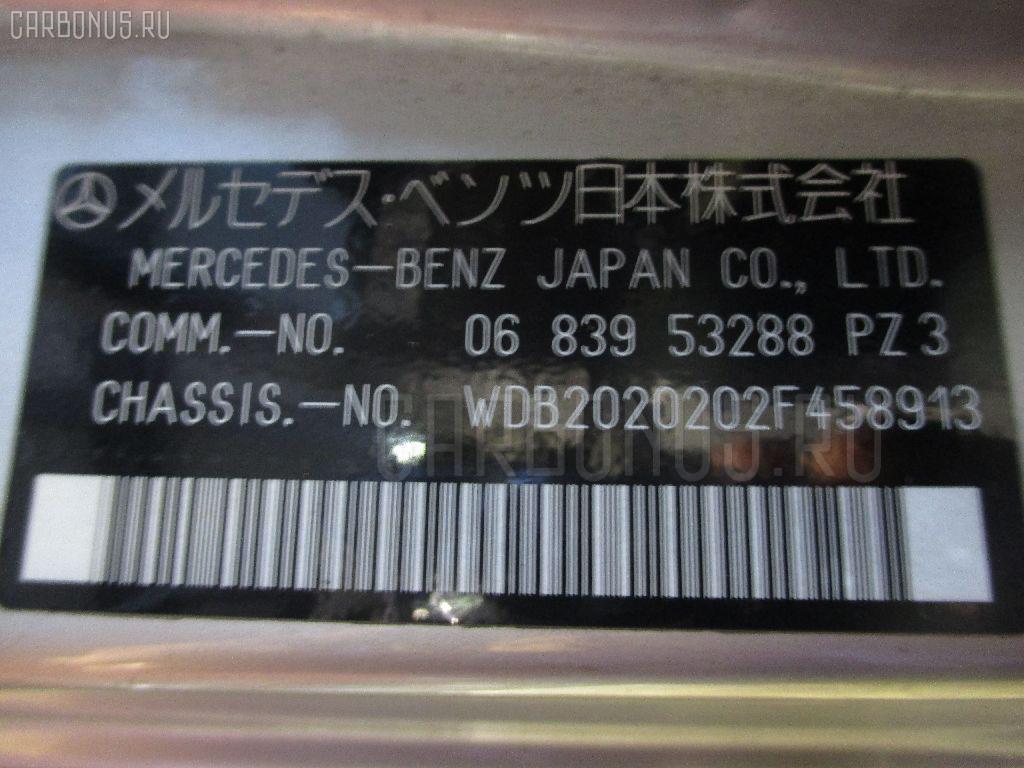 Бардачок MERCEDES-BENZ C-CLASS W202.020 Фото 3