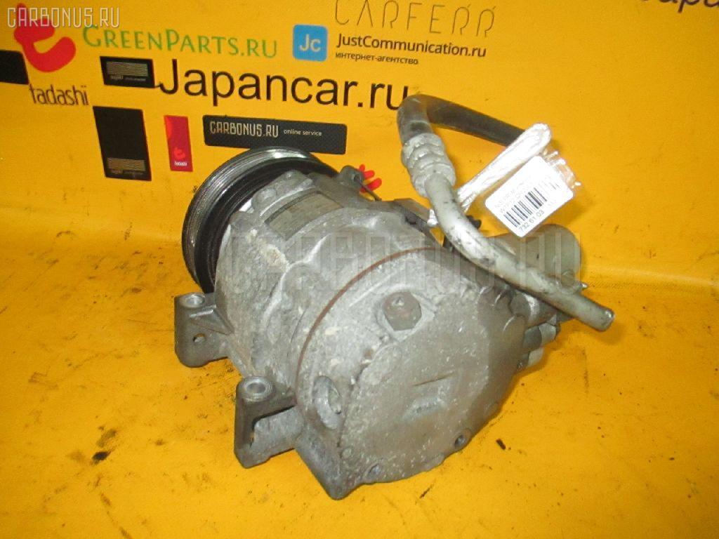 Компрессор кондиционера NISSAN PRIMERA WAGON WTP12 QR20DE. Фото 10
