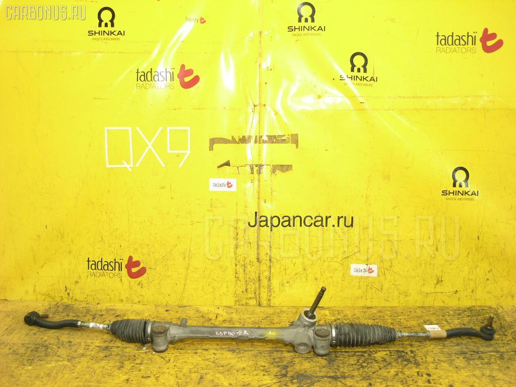 Рулевая рейка TOYOTA VITZ KSP90 1KR-FE. Фото 5