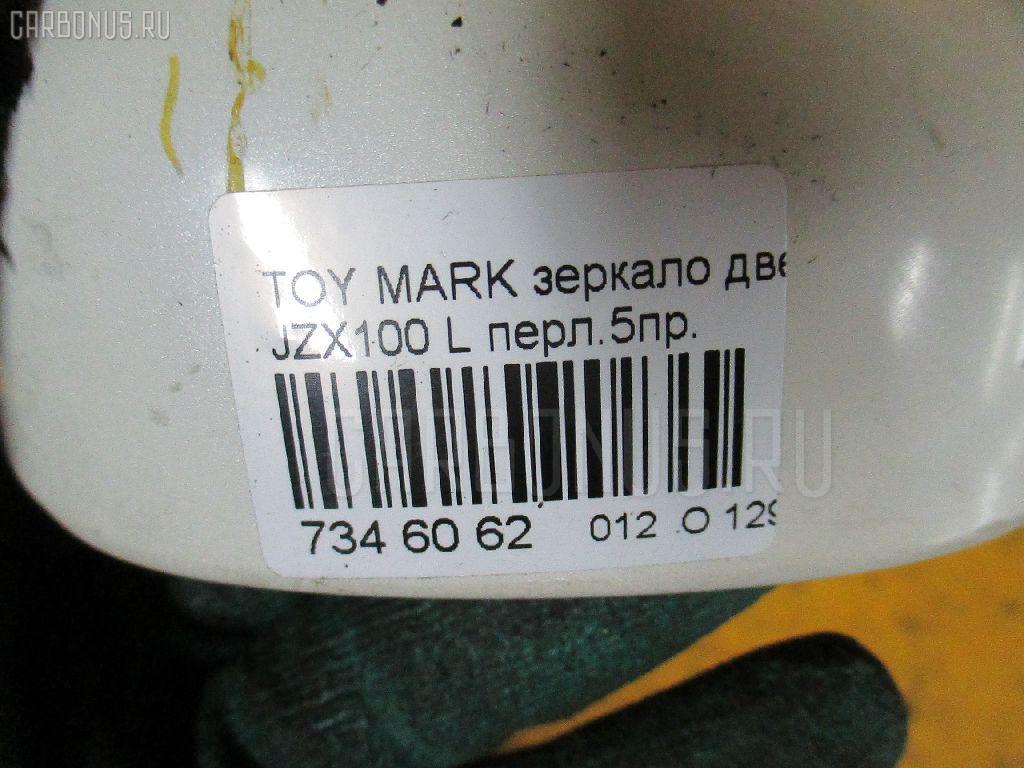 Зеркало двери боковой TOYOTA MARK II JZX100 Фото 9
