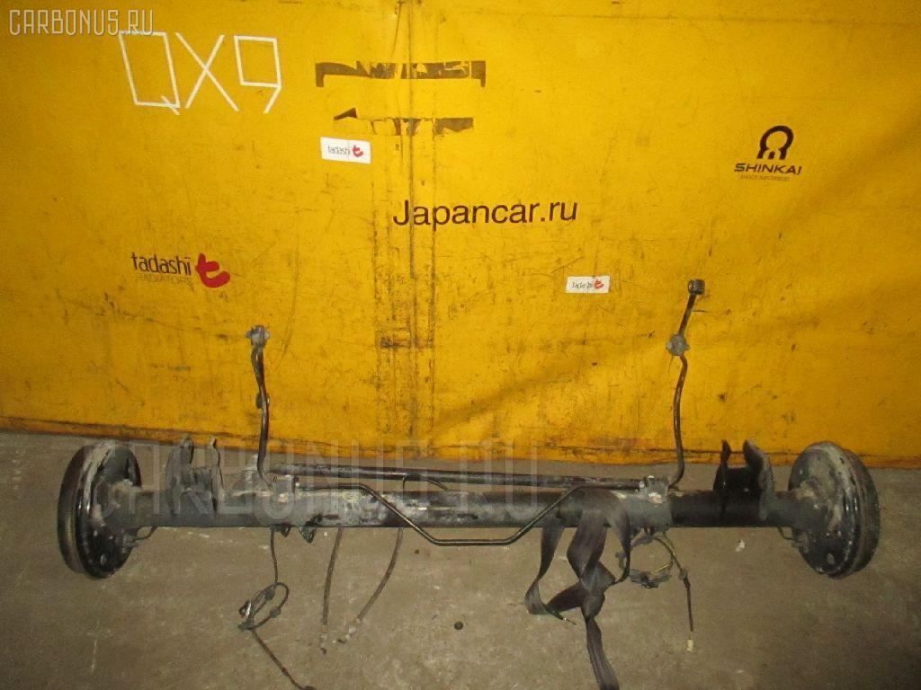 Балка подвески TOYOTA SUCCEED NCP51G 1NZ-FE. Фото 3