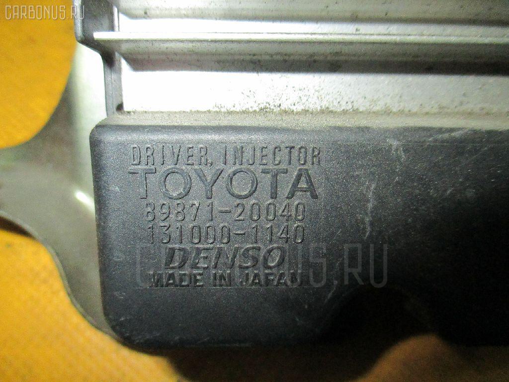 Блок управления инжекторами TOYOTA CALDINA AZT241W 1AZ-FSE Фото 3