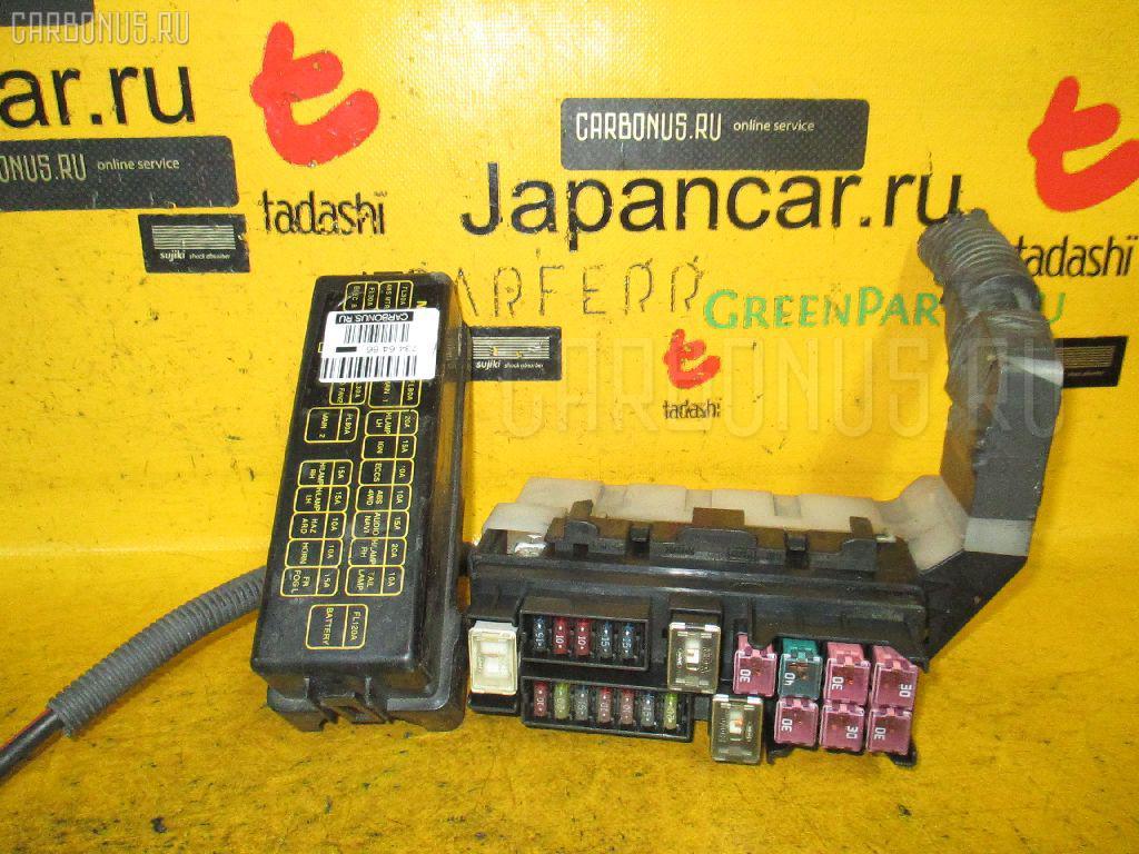 Блок предохранителей NISSAN X-TRAIL NT30 QR20DE. Фото 9