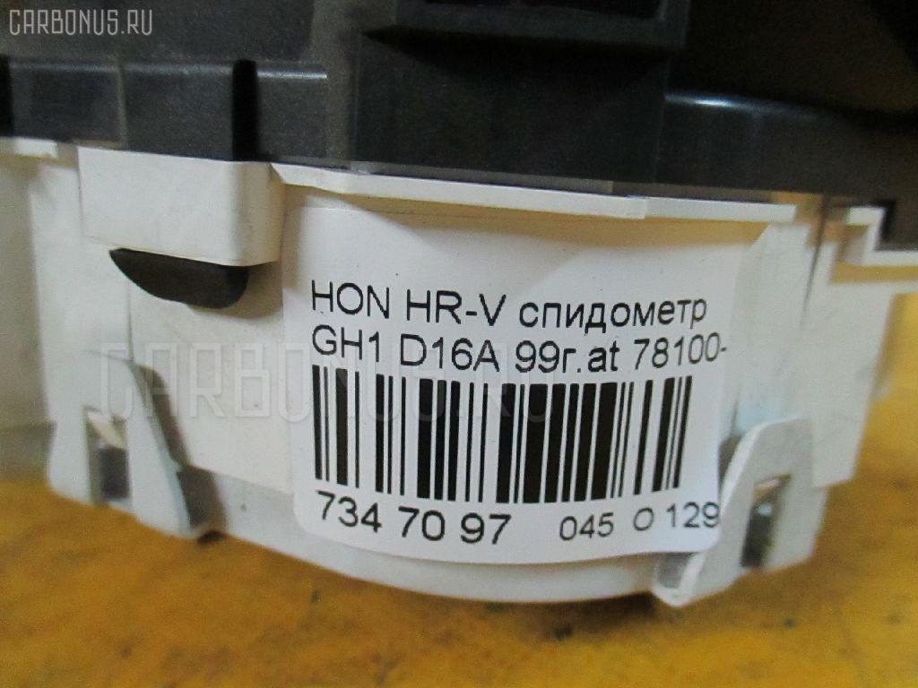 Спидометр HONDA HR-V GH1 D16A Фото 7