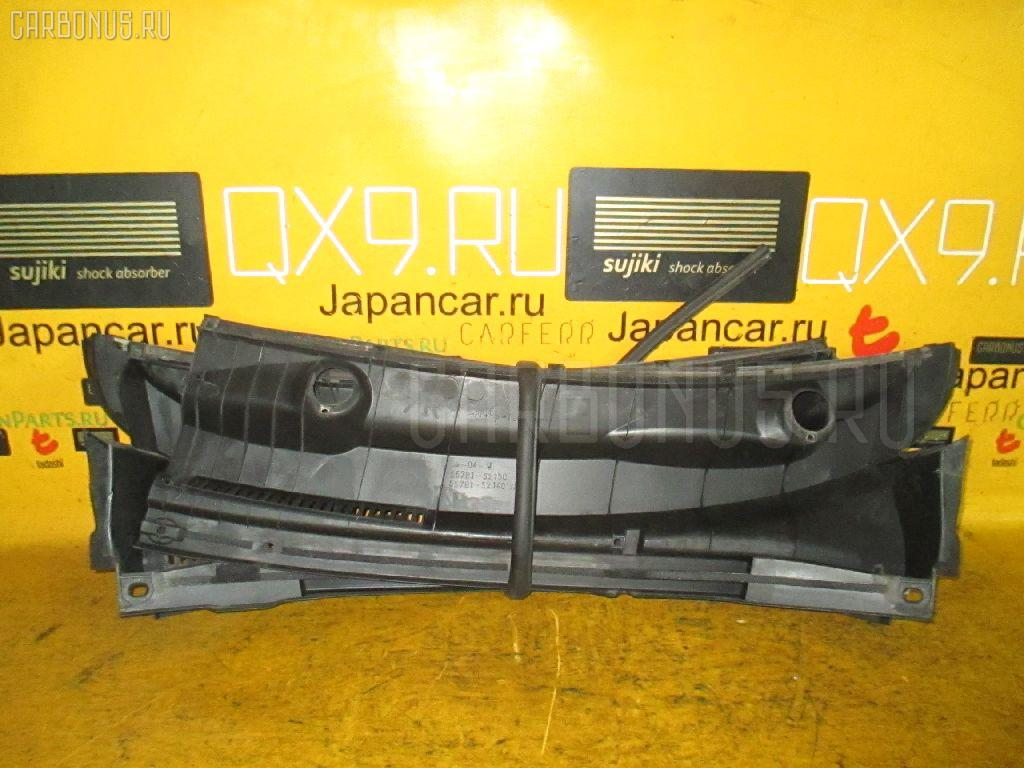 Решетка под лобовое стекло TOYOTA IST NCP60 Фото 2