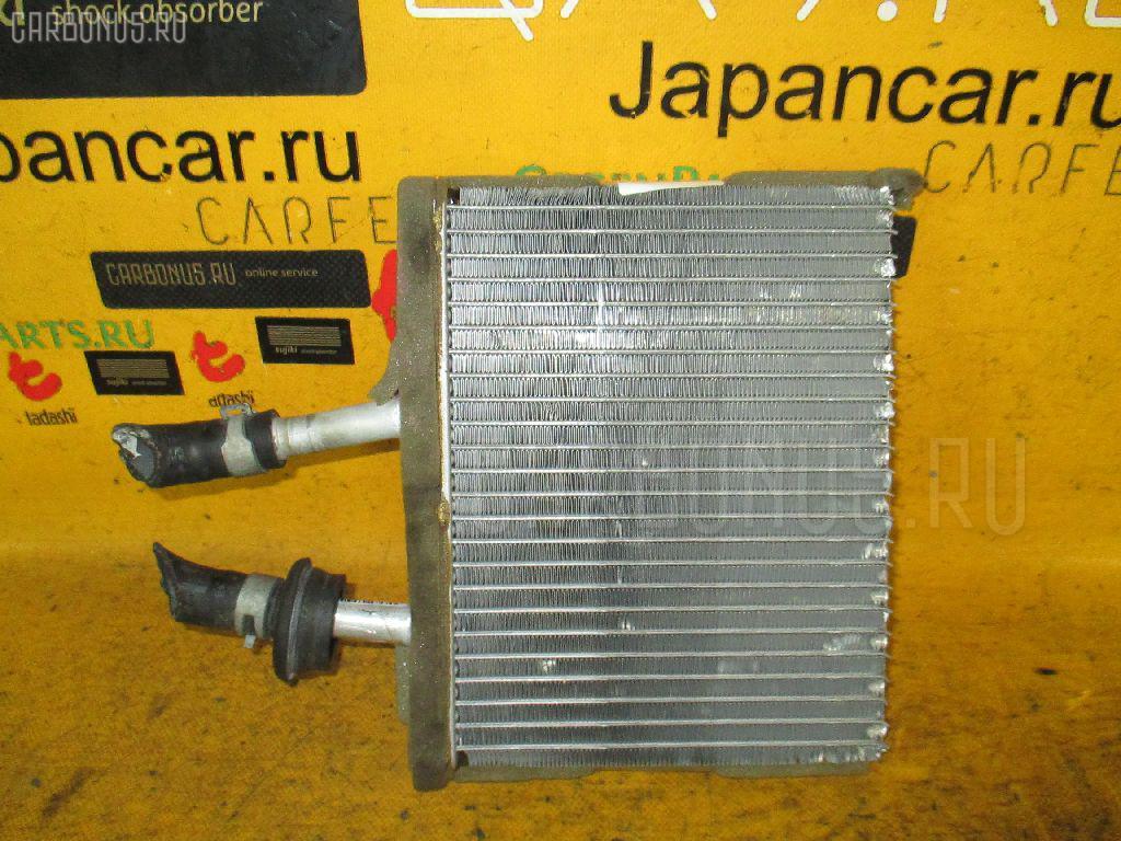 Радиатор печки NISSAN WINGROAD WFY11 QG15DE. Фото 3