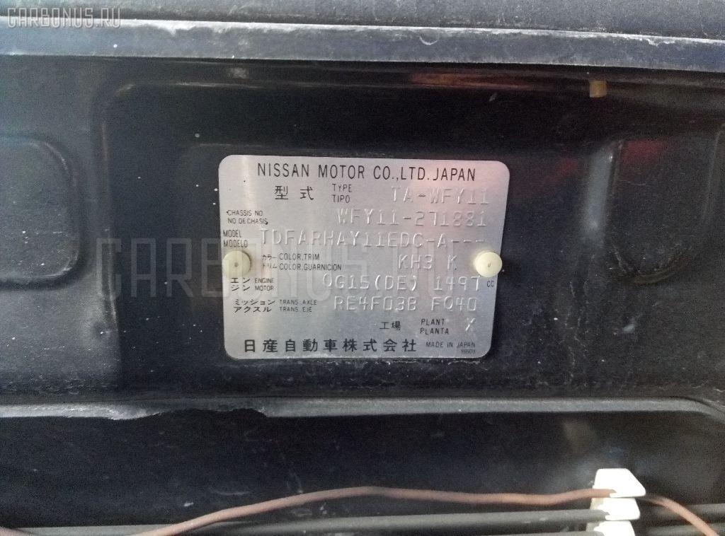 Компрессор кондиционера NISSAN WINGROAD WFY11 QG15DE Фото 4